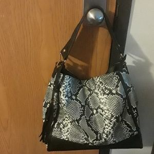 Python Print Shoulder bag